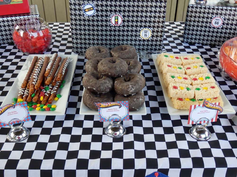 Hot Wheels Birthday Party Ideas In 2019 Racecar Party