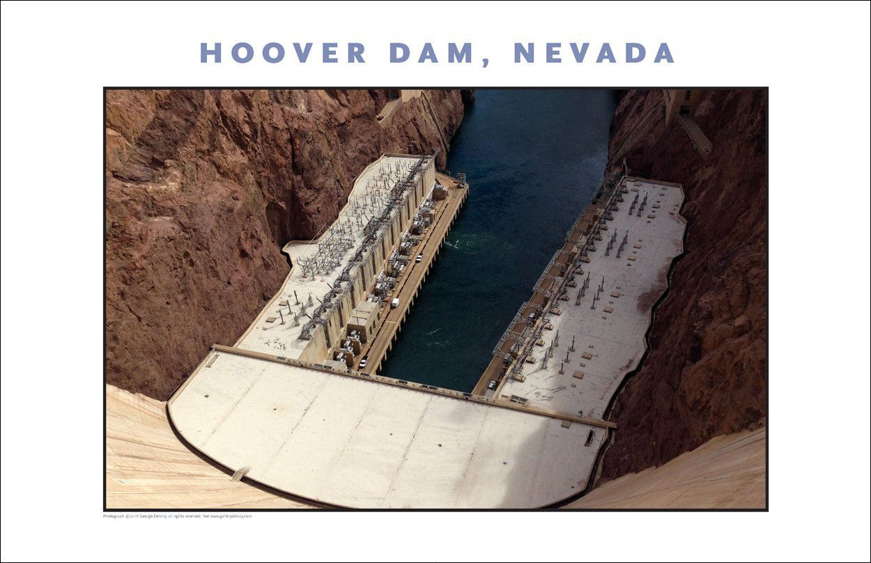 New...Hoover Dam Photo Wall Art # 1039