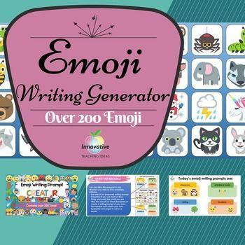 Emoji Writing Prompts (Creative Ideas Generator) The System