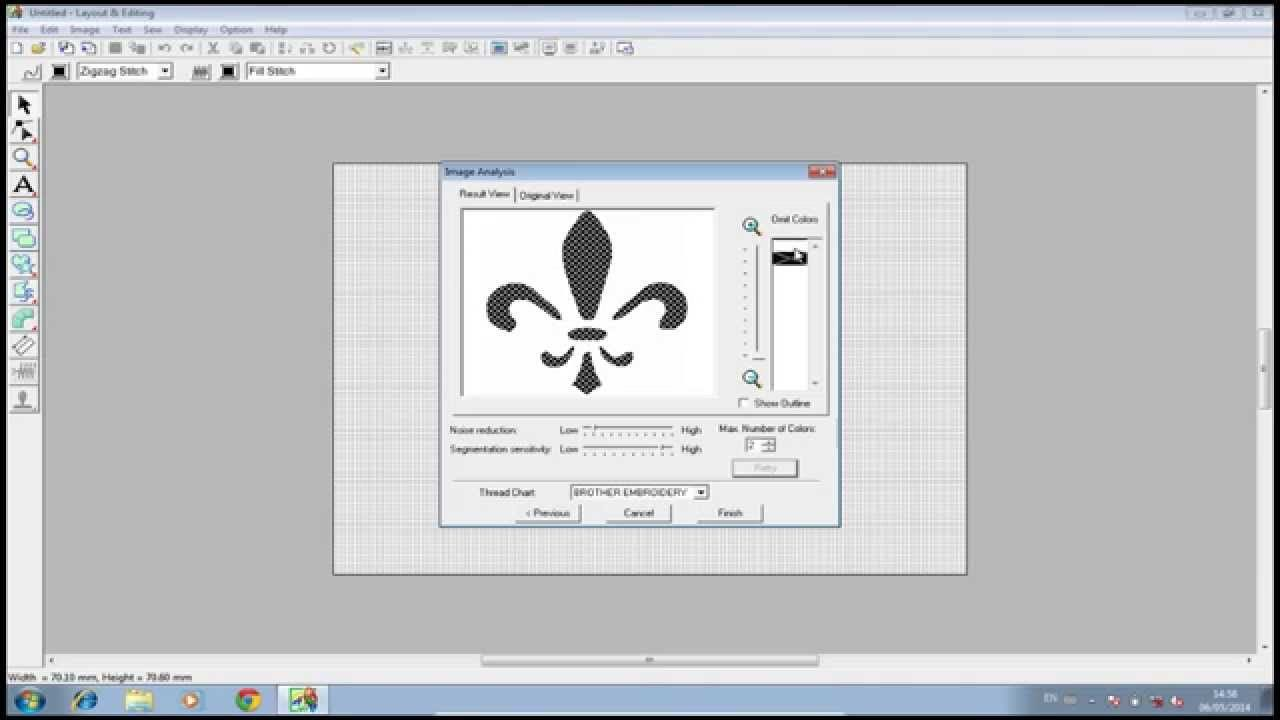 PE DESIGN - Como transformar um desenho em bordado - EMBIRD ... 20e4f73c2b3