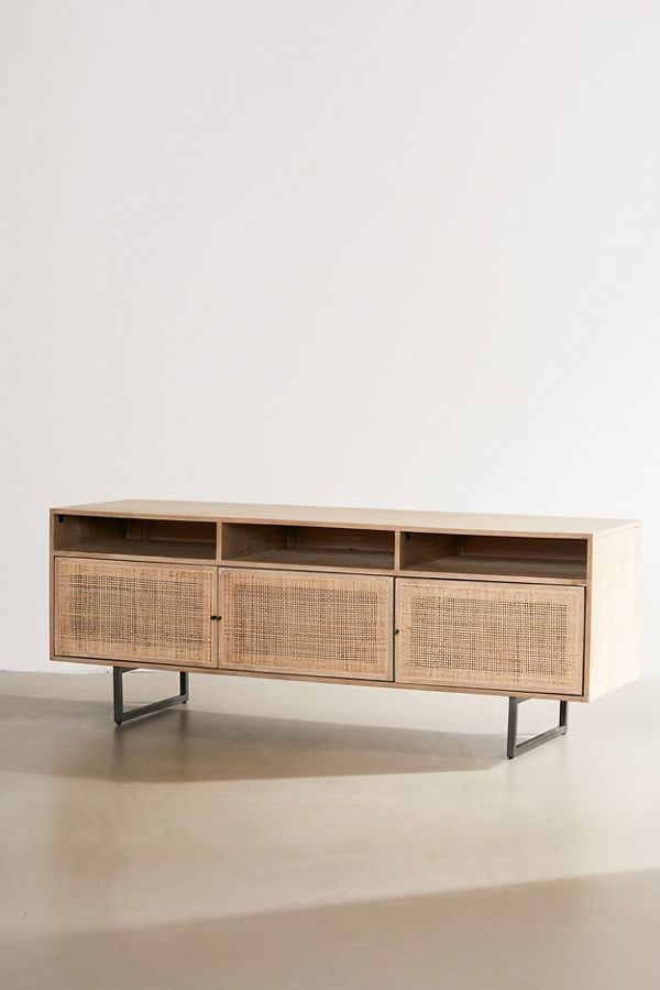 Ivy Media Console Urban Outfitters Wood Media Console Media