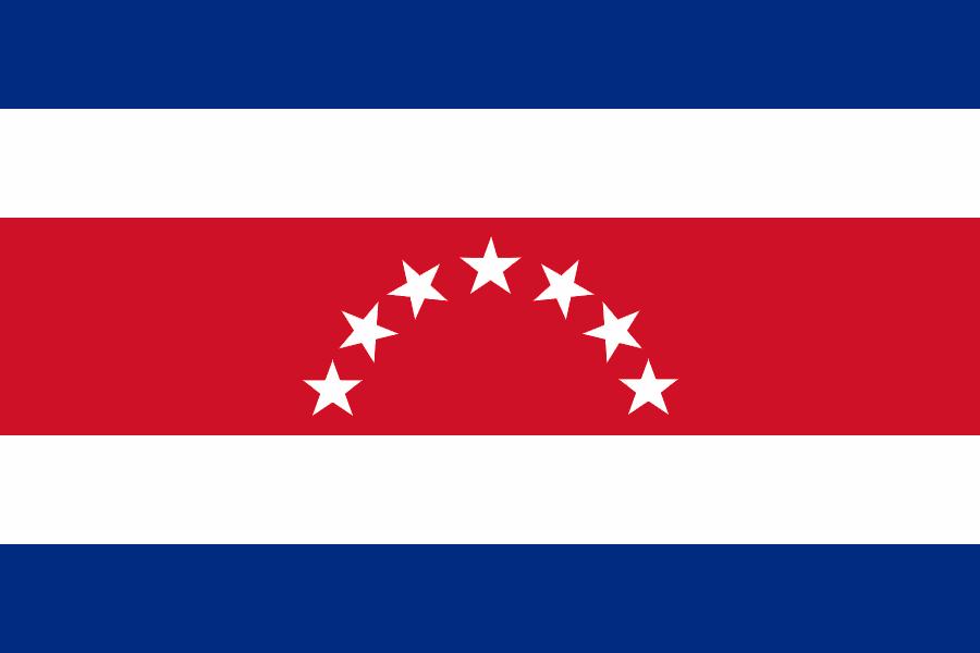 Costa Rica Bandeiras Luis Inacio Lula