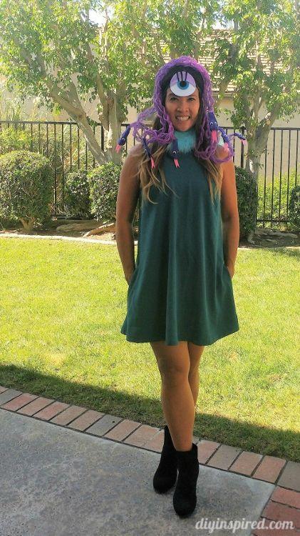 Celia Monsters Inc DIY Costume