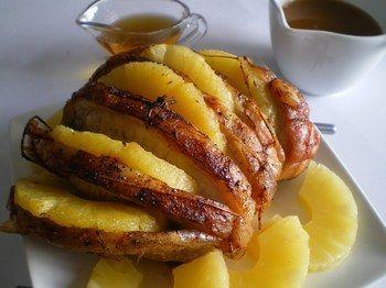 R ti de dindonneau l 39 ananas cuisine dinde pinterest for Regime ananas
