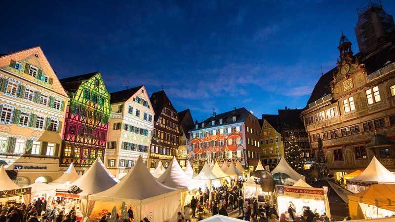 ChocolART festival in Tubingen Germany