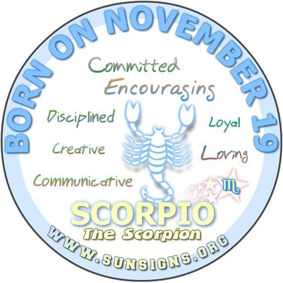 November 19 Zodiac Sign