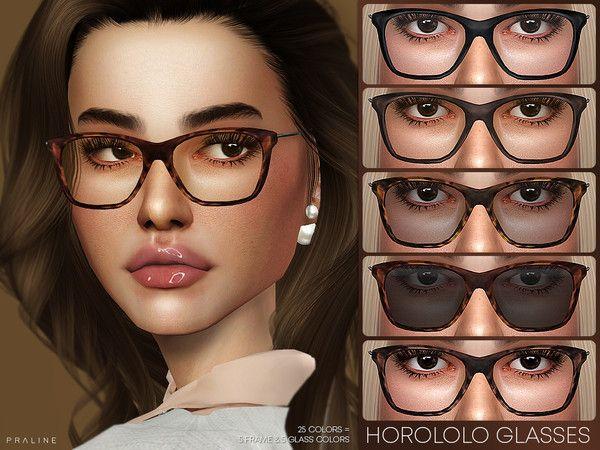 Pralinesims' Horololo Glasses