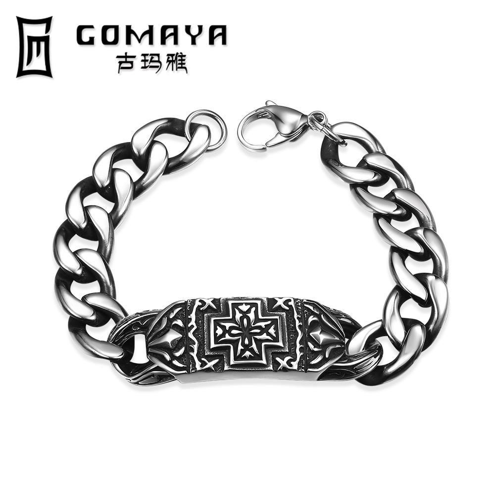 new fine jewelry l stainless steel vintage bracelets punk