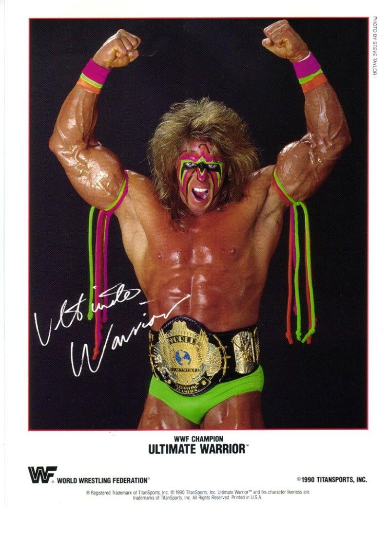 Ultimate Warrior goes