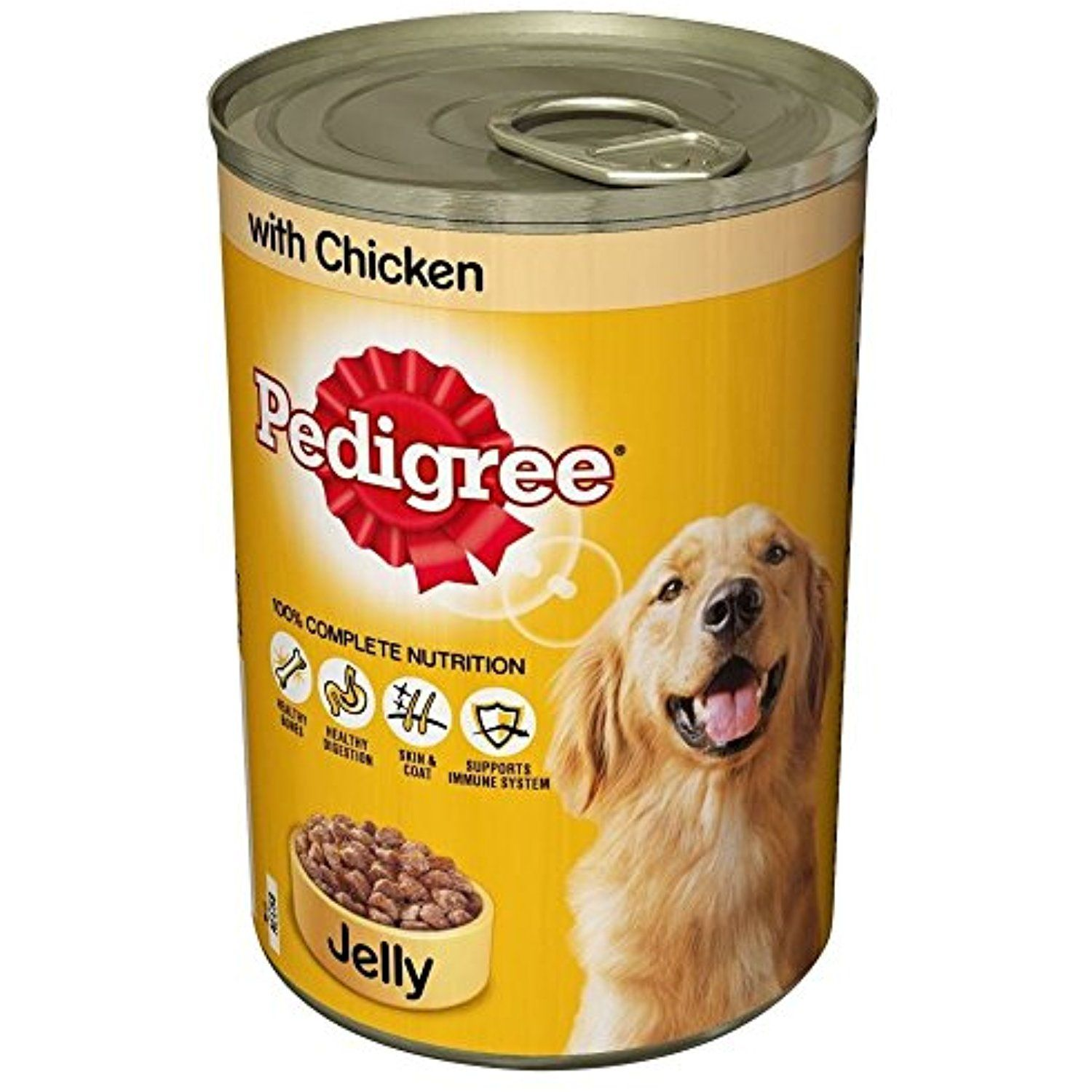 Pedigree with Chicken in Jelly (385g) The details can
