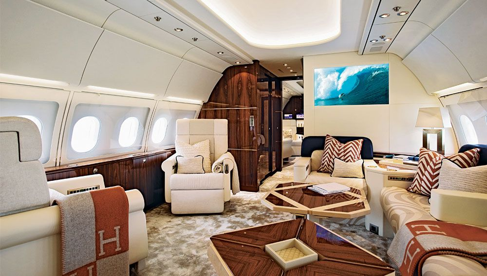 High Style With Images Private Jet Interior Luxury Private