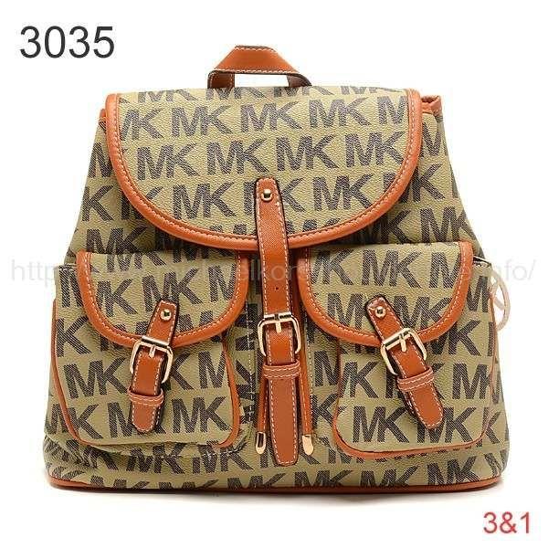 2cef61576d96 www.michaelkorsshouldertote.info michaelmichaelkorslogobackpacktan-p-3293.html  MICHAEL Michael Kors Logo Backpack Tan