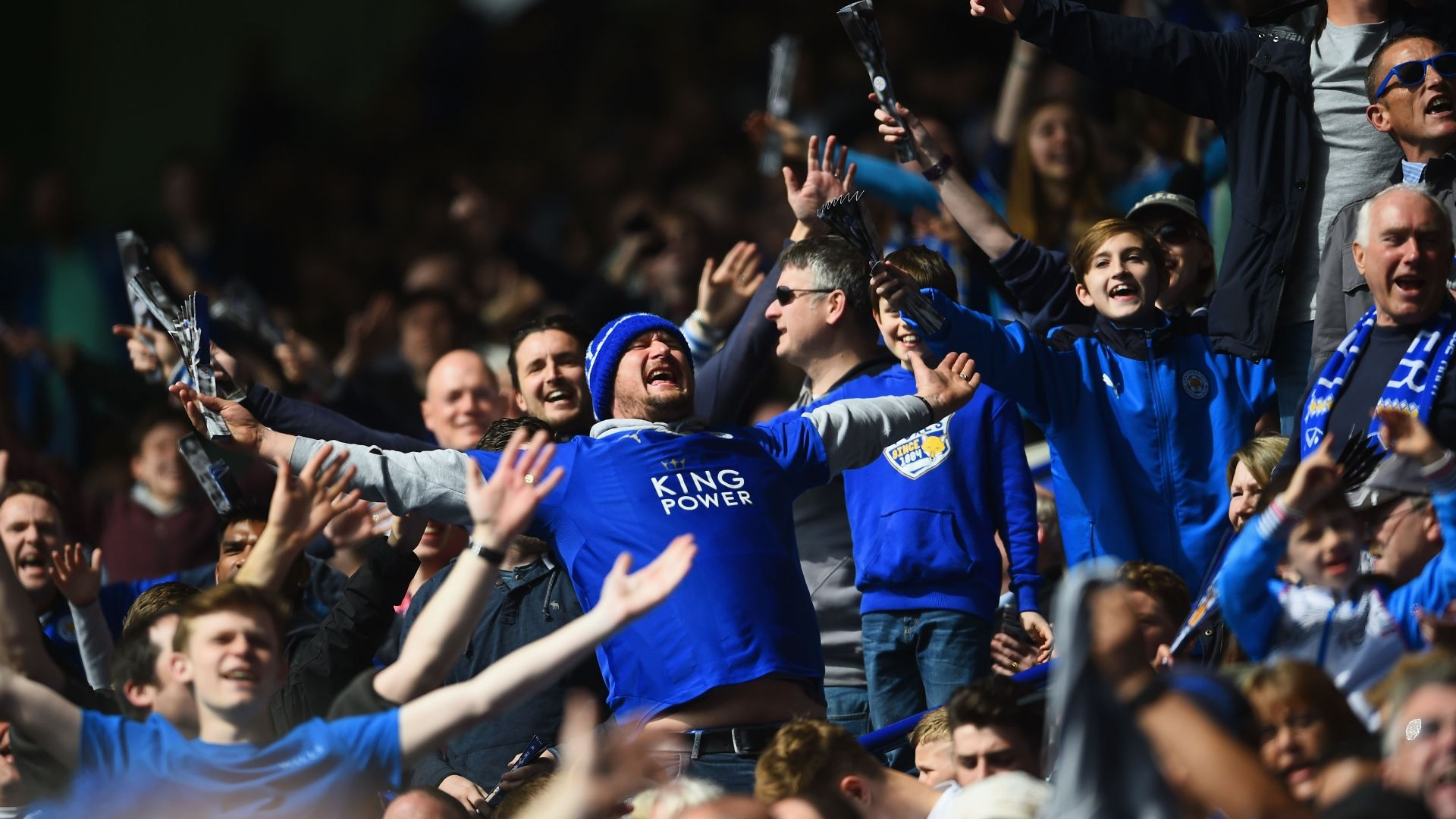 Leicester City win the Premier League title as Tottenham
