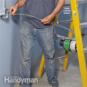 How to wire a finished garage things i love finished - How to fish wire through exterior wall ...