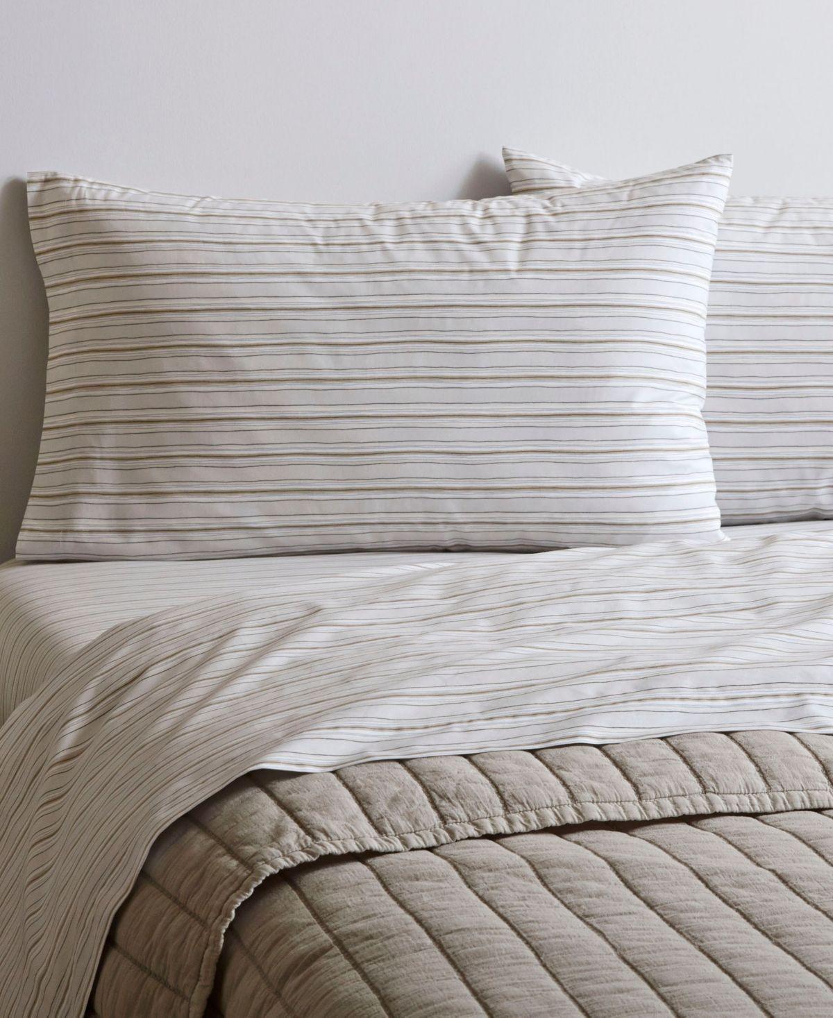 Ed Ellen Degeneres Printed Cotton Percale Twin Sheet Set Reviews Home Macy S Striped Sheets King Sheet Sets Mattress Furniture