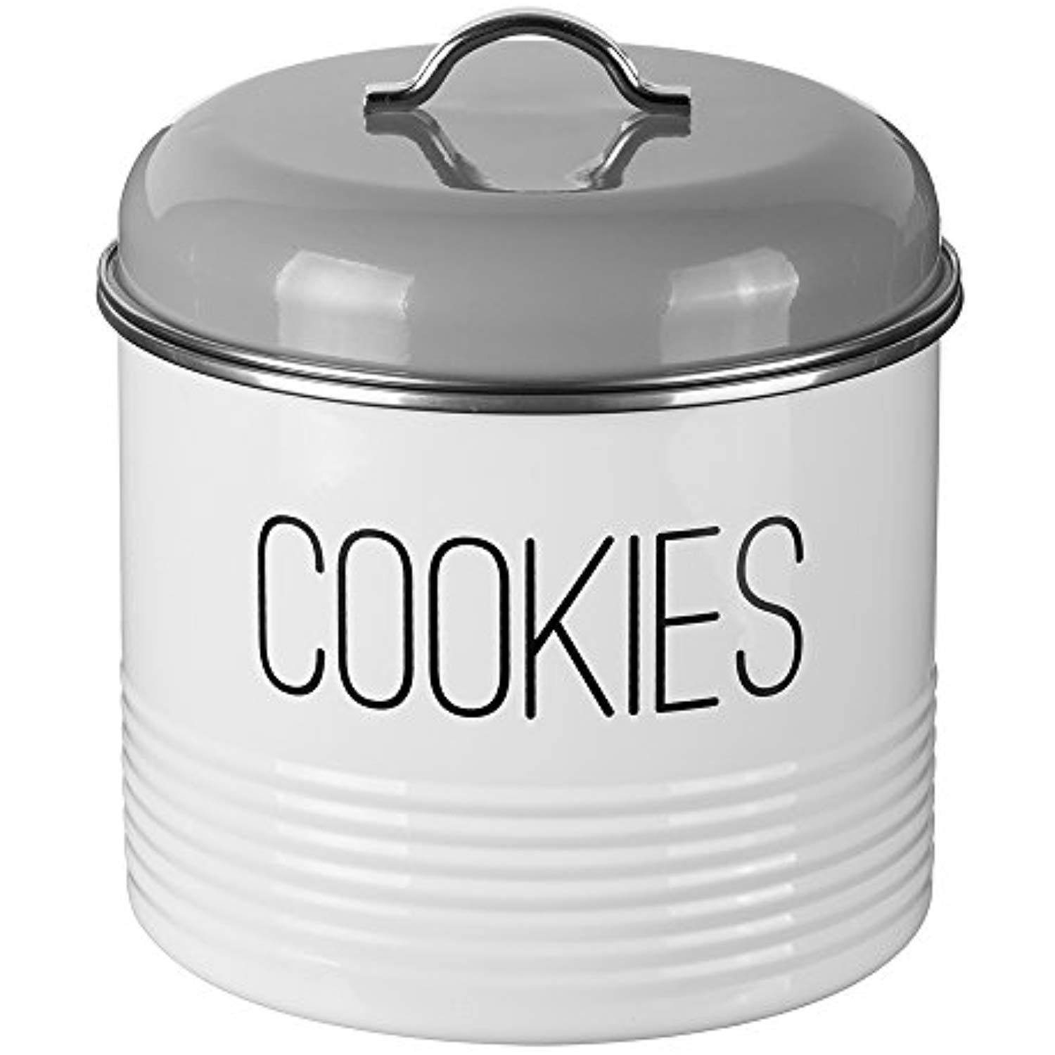 Typhoon Vintage Mayfair Coated Steel Cookie Storage Tin With Airtight Lid Designed To Store Plenty Of Cookies 7 I Cookie Storage Biscuit Tin Cookie Container