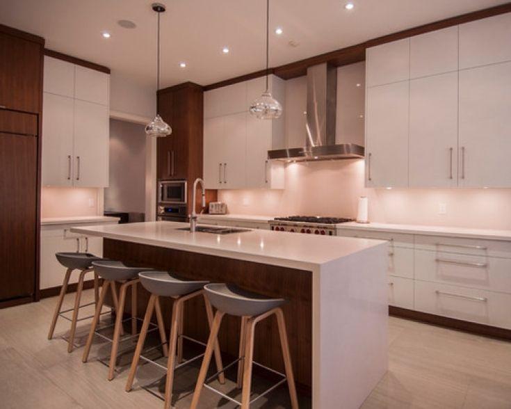 Cozy Floating Kitchen Islands   Kitchen Design Photo   Kitchen ...