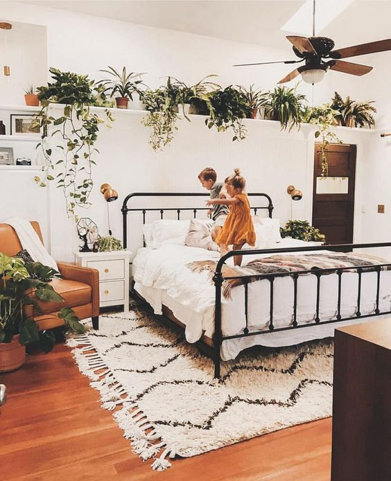 Floating Shelf Ideas For Your Bedroom Living Room Kitchen Decor Steals Blog In 2020 Shelf Decor Living Room Floating Shelves Bedroom Bedroom Makeover