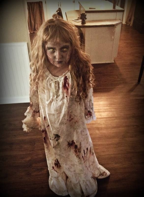 Creepy zombie child