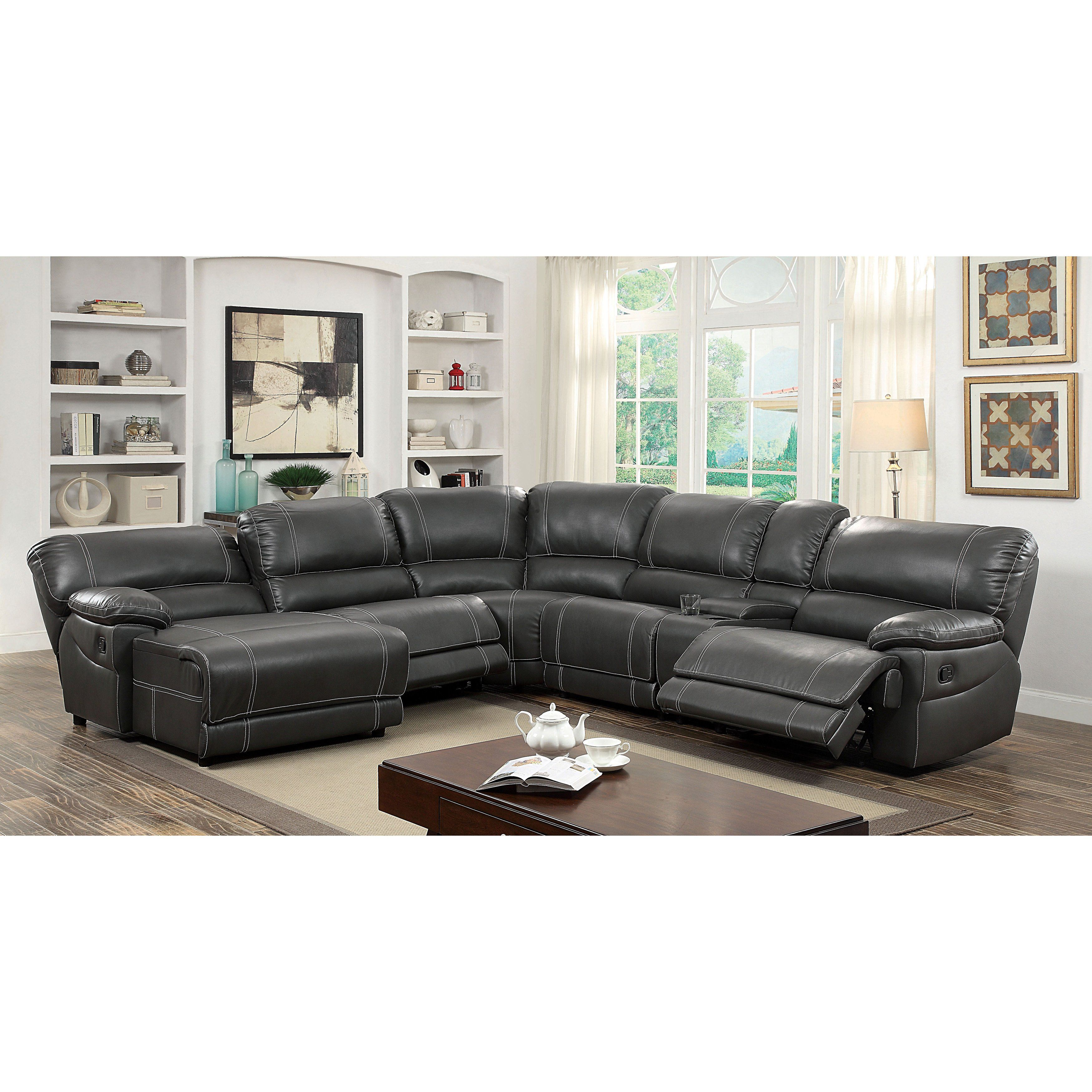 Brilliant Merson Contemporary 6 Piece Sectional By Foa Grey Caraccident5 Cool Chair Designs And Ideas Caraccident5Info