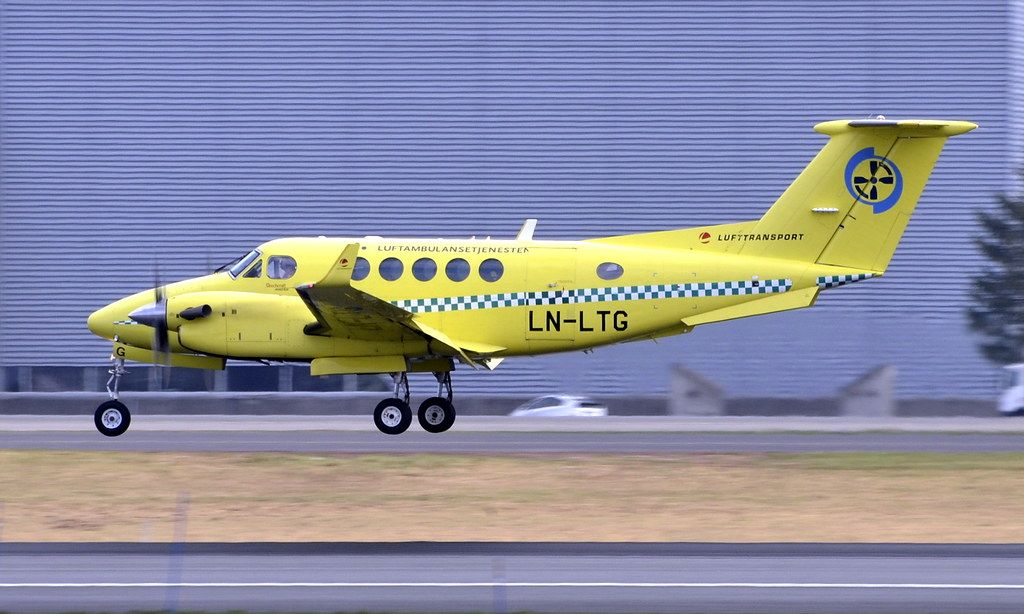 Lufttransport LNLTG, OSL ENGM Gardermoen Aviation