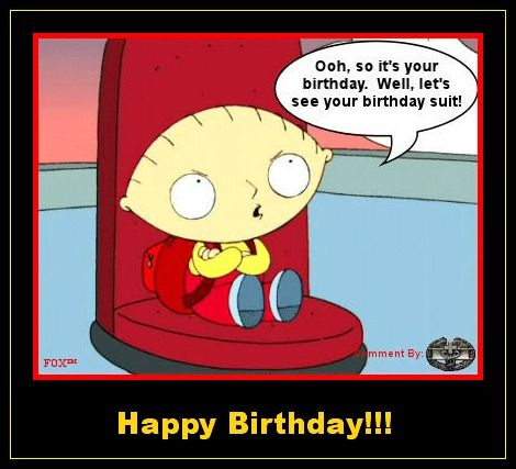 Stewie Family Guy Birthday Posters Birthday Wishes Funny