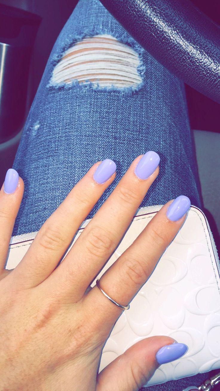 Round acrylic nails | Nails | Pinterest | Rounded acrylic nails ...
