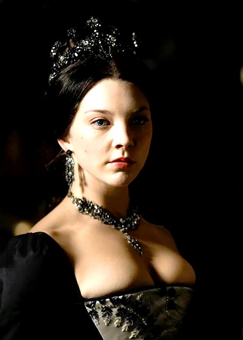 Natalie Dormer as Anne in The Tudors