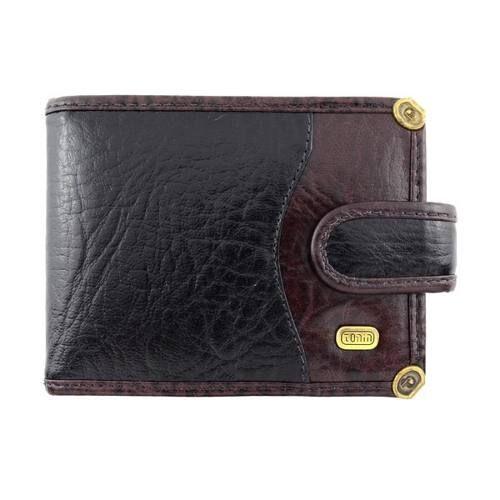 dd5cf23da carteira masculina couro legítimo com ponteiras tonin 0649 ...