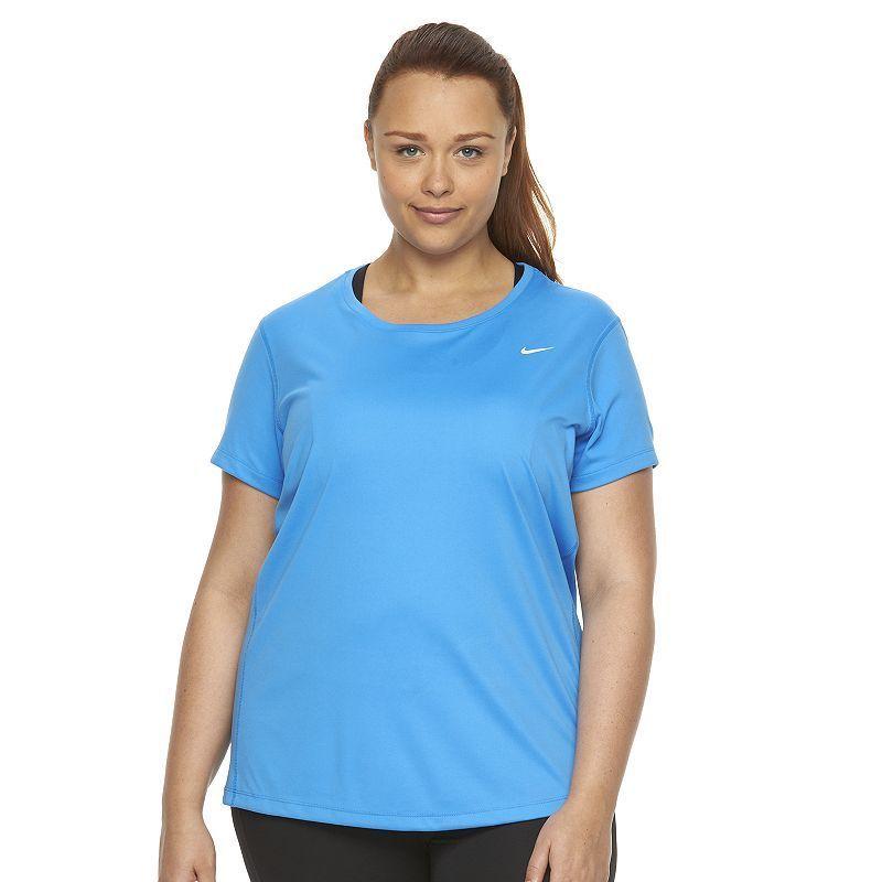 Plus Size Nike EXT Miler Dri-FIT Crewneck Running Tee ...