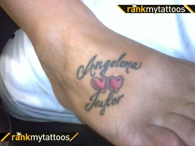 Ankle Tattoos With Names My Kids Names Love Tattoo Tattoos Love Tattoos Kid Names