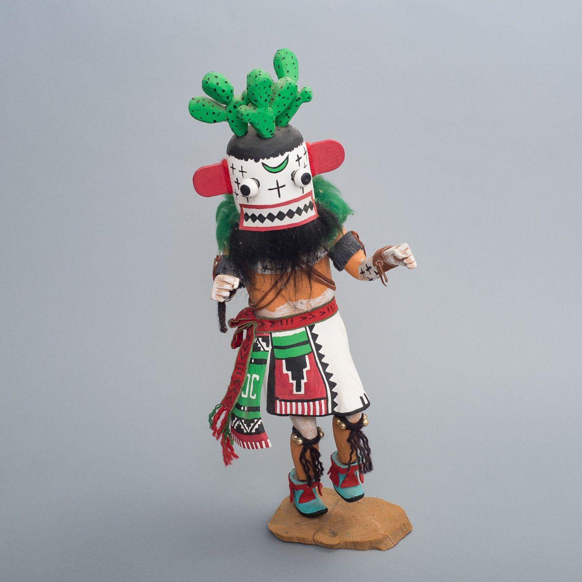 "Large Hopi Cactus Kachina by Toby M. Espinoza of Holbrook Arizona 20.75"" Tall"