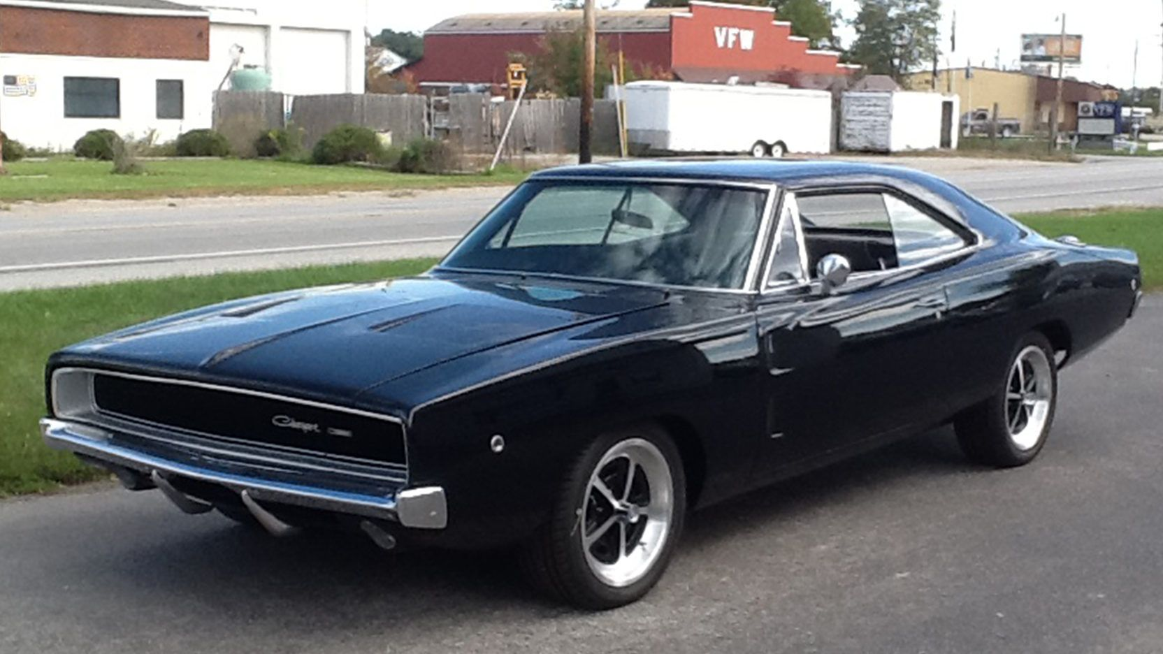 1968 Dodge Charger presented as Lot F168 at Schaumburg, IL | TENTH ...