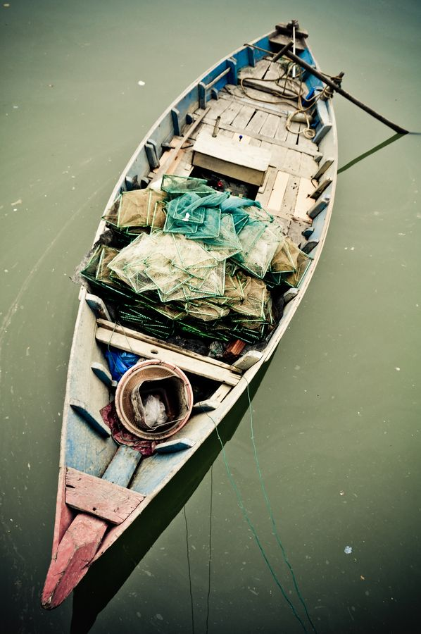 Fishing boat in Vietnam