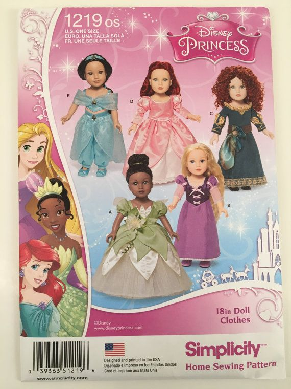 Sewing Pattern for American Girl or 18\