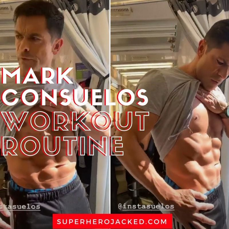 Mark Consuelos Workout Routine And Diet Plan Celebrity Workout Routine Workout Routine Celebrity Workout