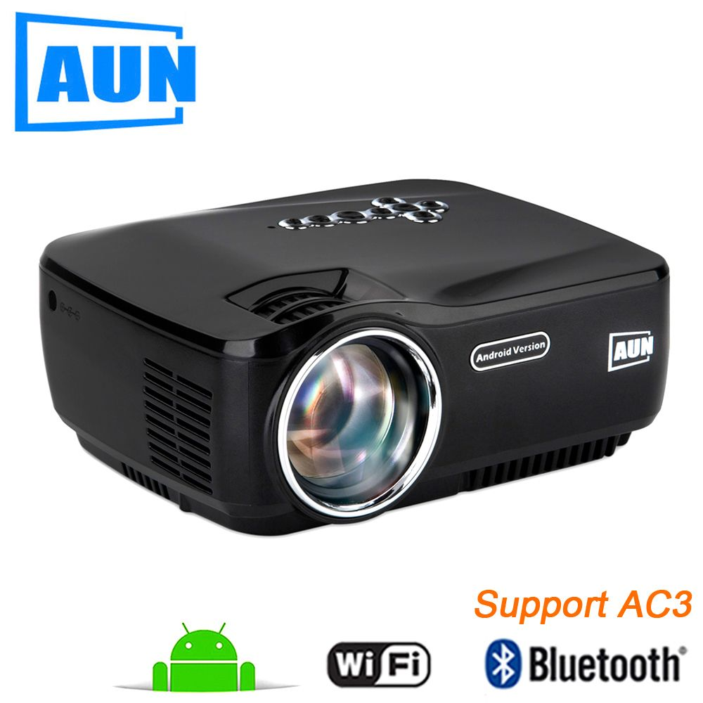Aun am01p led projector support 1920x1080 with android