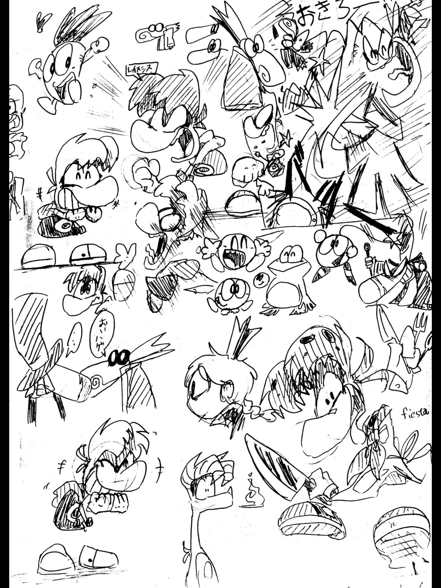 Rayman Legends Fan Art by kshiraj on DeviantArt   Game Art ...