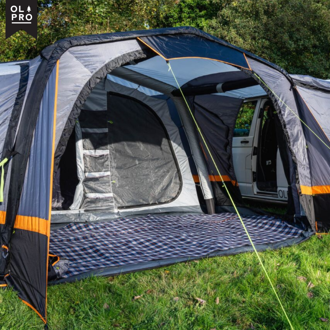 California Breeze Inflatable Campervan Awning Campervan Awnings Campervan Inner Tents