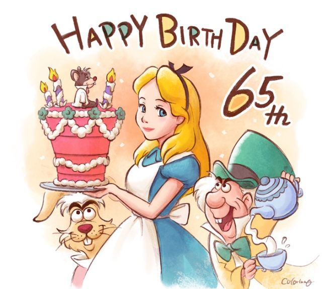 Happy Birthday Alice!65years By Colorlumo Sketch