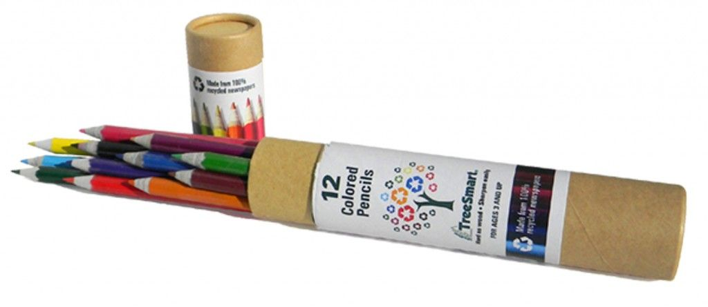 """12  /""""RECYCLED NEWSPAPER/""""   Personalized Pencils"""