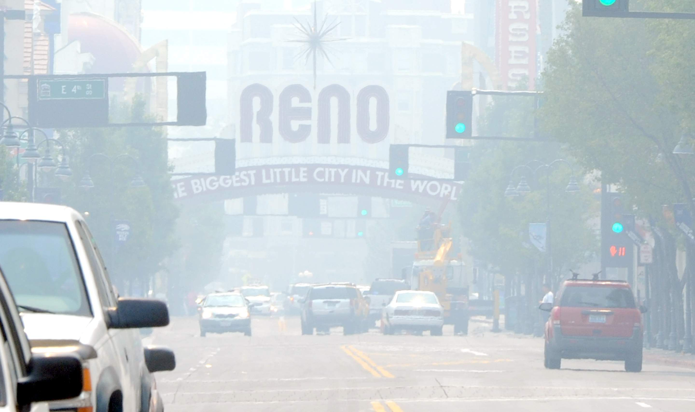 Update: Reno air quality back in unhealthful range from Rim
