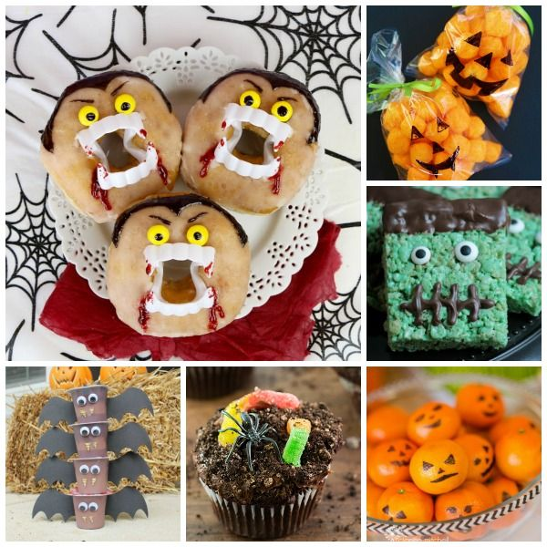 EASY  ADORABLE HALLOWEEN TREAT IDEAS FOR KIDS- great for class