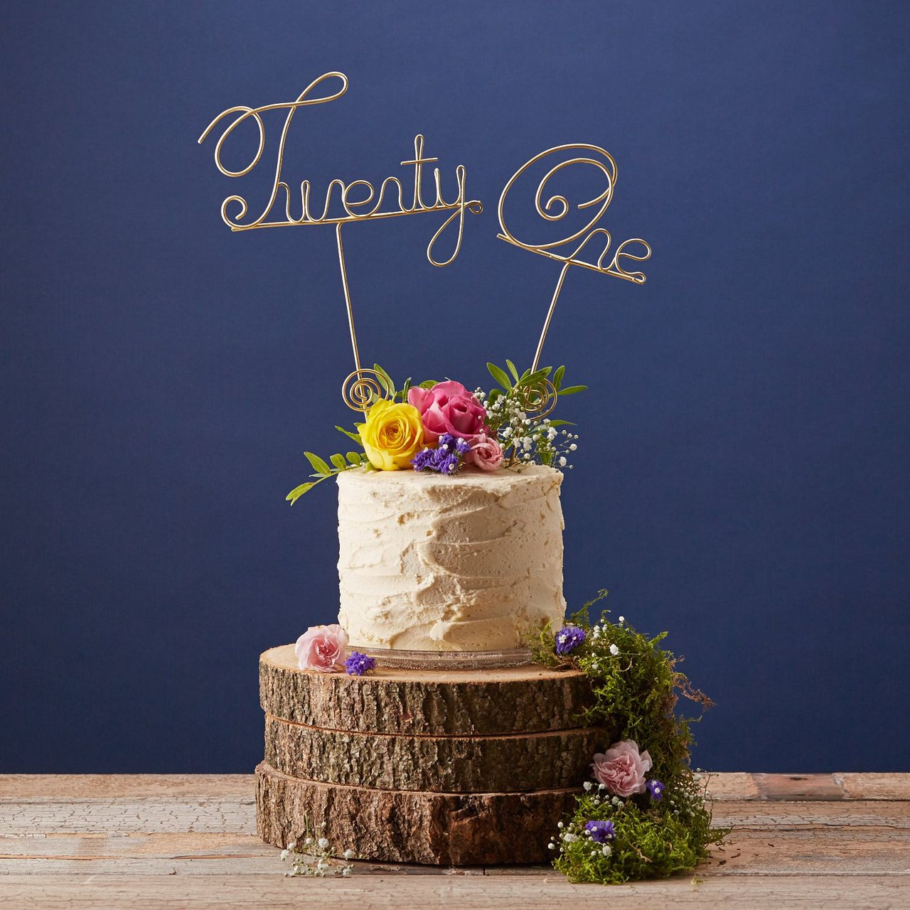 Hooray cake topper from the letter loft cake toppers
