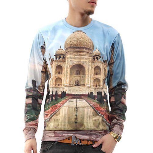 aa1ae86ccec4 Zero Unisex Hip Hop Hyperbolic Religious Palace Sweater Shirts Jacket (XL (  US Size L