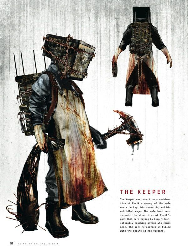 evil within character concept art - Google Search
