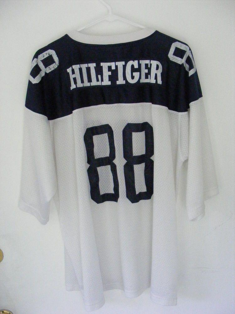 c7d4cffe Rare Vintage Tommy Hilfiger Athletics Mesh 88 Jersey XXL #TommyHilfiger  #Jerseys