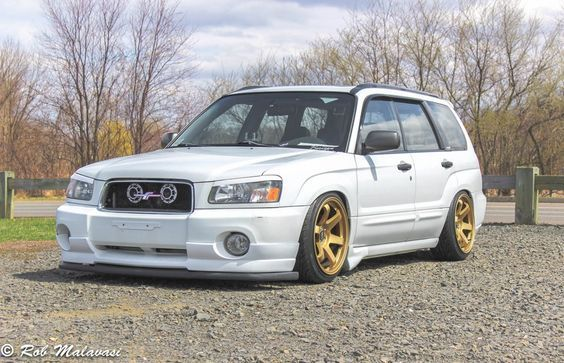 Lip Under Spoiler And Side Skirts At The Front Subaru Forester Sti Subaru Forester Xt Subaru Cars
