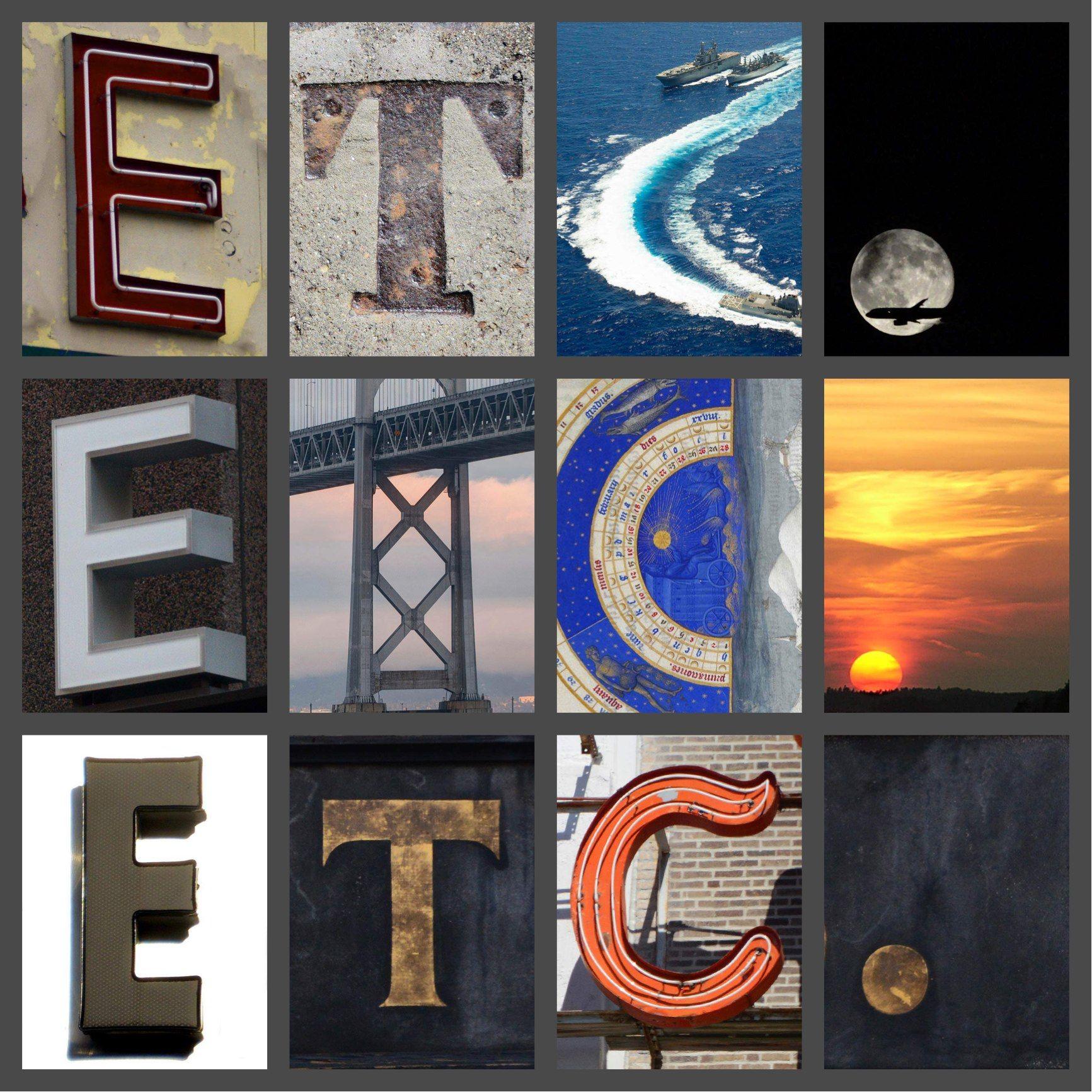 etc., etc., etc. / Created with Alphabet Art for iOS