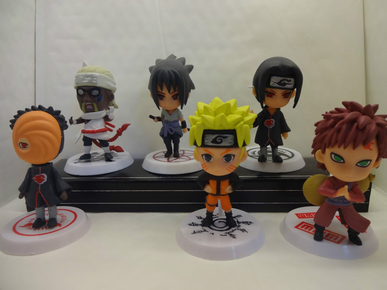 Naruto Anime Cake Topper Figures Set Of 6 Brand Anime